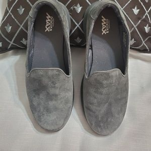 Skechers Go Max suede loafers